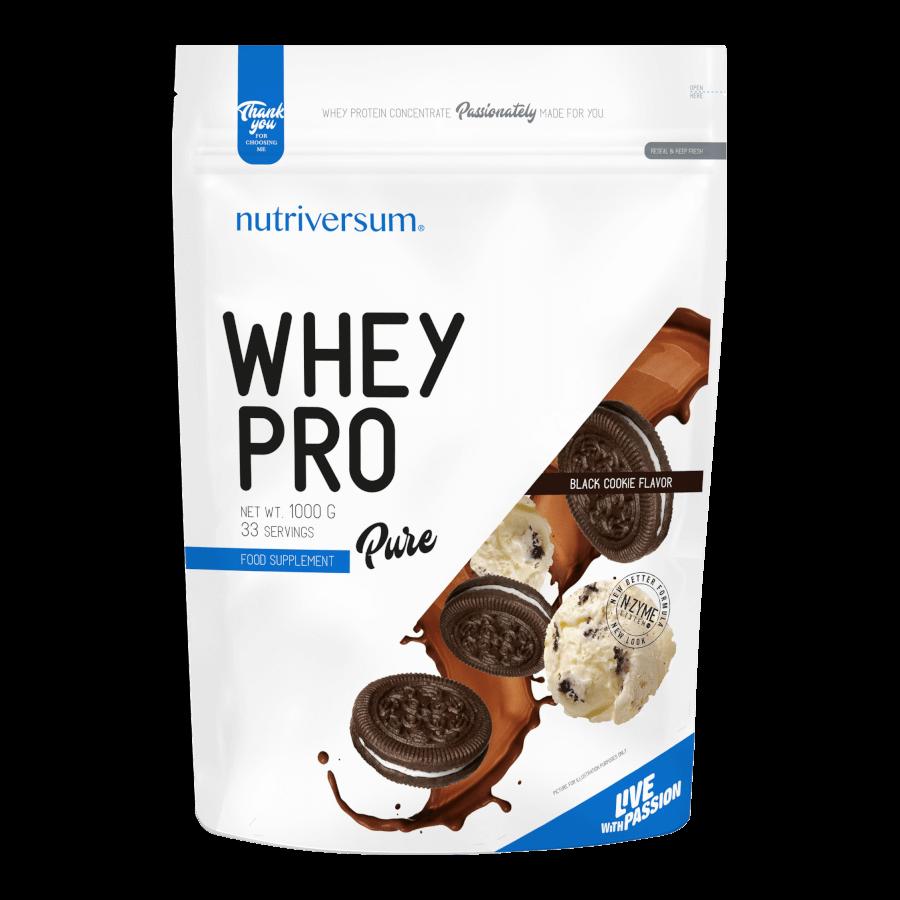Whey PRO - 1 000 g - PURE - Nutriversum - csokis süti