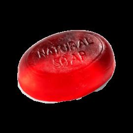 Rózsás kézi készítésű szappan 100g - minőségi növényi összetevők