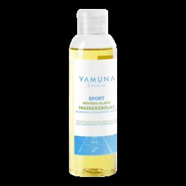 Sport növényi alapú masszázsolaj borsmenta és rozmaring olajjal - 250ml - színezék-, parabén- és paraffin mentes