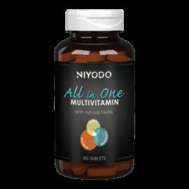 All in One multivitamin - 30 tabletta - NIYODO