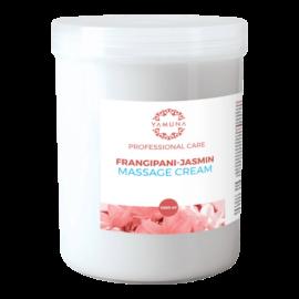 Frangipáni-jázmin illatú zsíros masszázskrém - 1000ml
