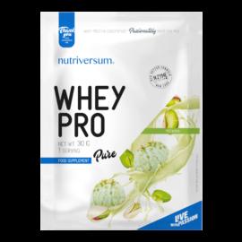 Whey PRO - 30 g - PURE - Nutriversum - pisztácia