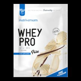 Whey PRO - 30 g - PURE - Nutriversum - vanília