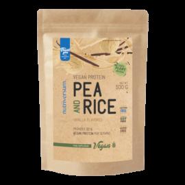 Pea & Rice Vegan Protein - 500g - VEGAN - Nutriversum - vanília