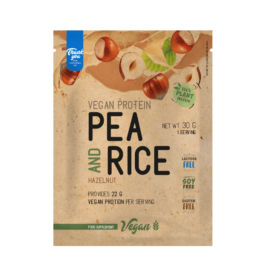 Pea & Rice Vegan Protein - 30g - VEGAN - Nutriversum - mogyoró