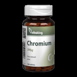 Króm pikolinát 200mcg - 100 tabletta - Vitaking
