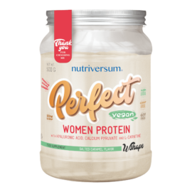 Perfect Woman Protein - 500 g - WSHAPE - Nutriversum - sós karamell - teljeskörű tápanyag tartalom