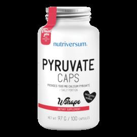 Pyruvate - 100 kapszula - WSHAPE - Nutriversum - diétát támogató hatóanyag