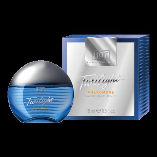 HOT Twilight - feromon parfüm férfiaknak (15ml) - illatos - feromonnal feturbózva