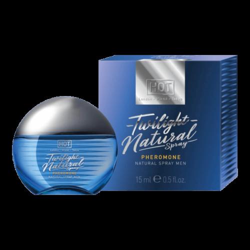 HOT Twilight Natural - feromon parfüm férfiaknak (15ml) - illatmentes - feromonnal feturbózva