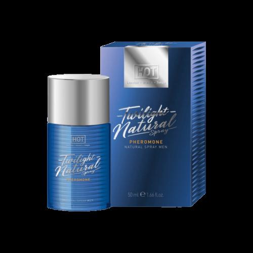 HOT Twilight Natural - feromon parfüm férfiaknak (50ml) - illatmentes - feromonnal feturbózva