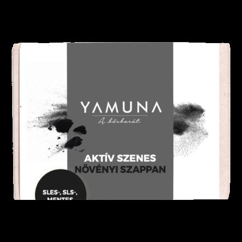 Aktív szenes növényi szappan 110g - minőségi növényi összetevők
