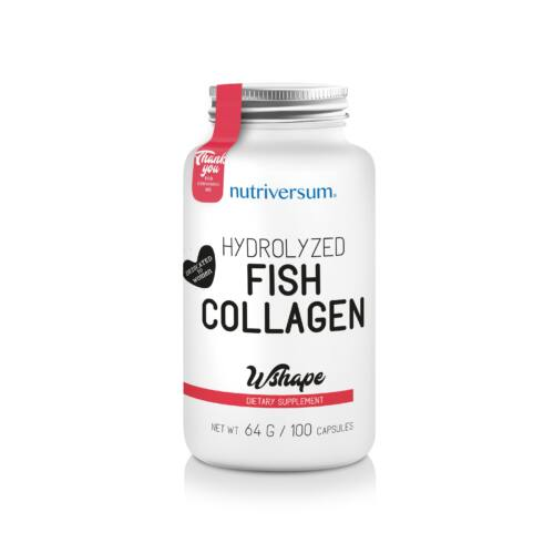 Fish Collagen - 100 kapszula - WSHAPE - Nutriversum