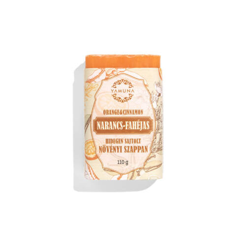 Narancs-fahéjas hidegen sajtolt szappan 110g