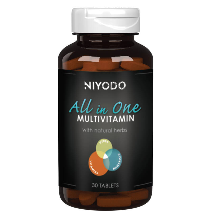 All in One multivitamin - 30 tabletta - NIYODO