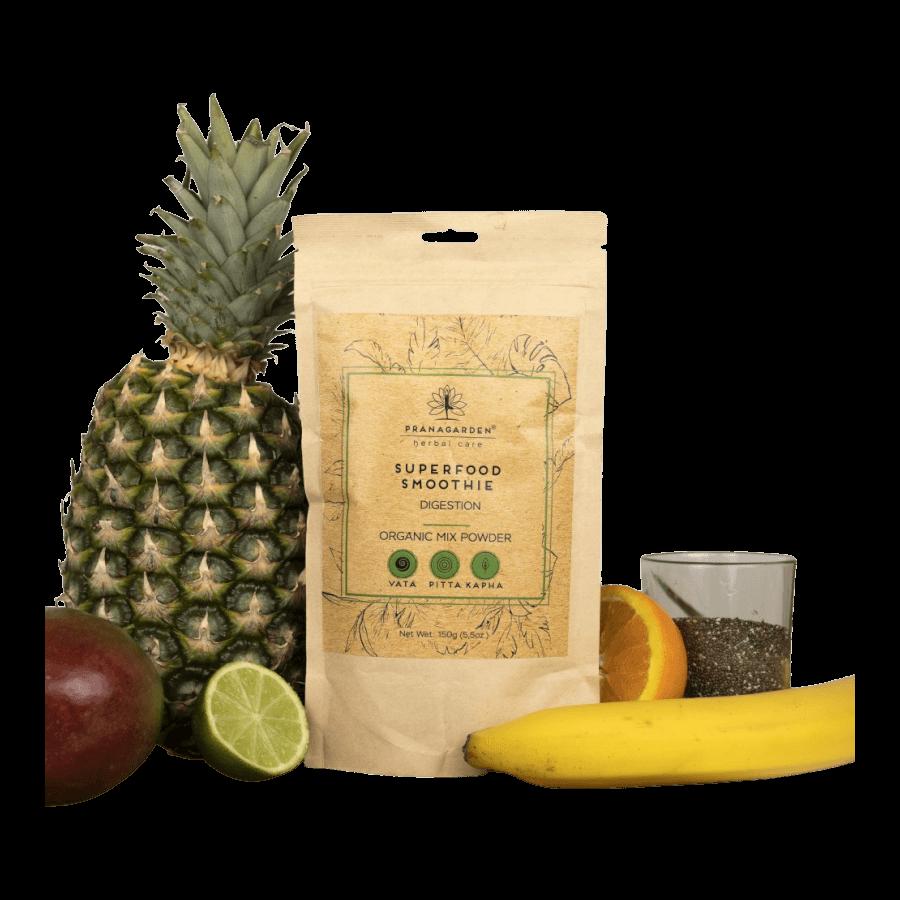 Pranagarden Superfood Smoothie Emésztés 150 g