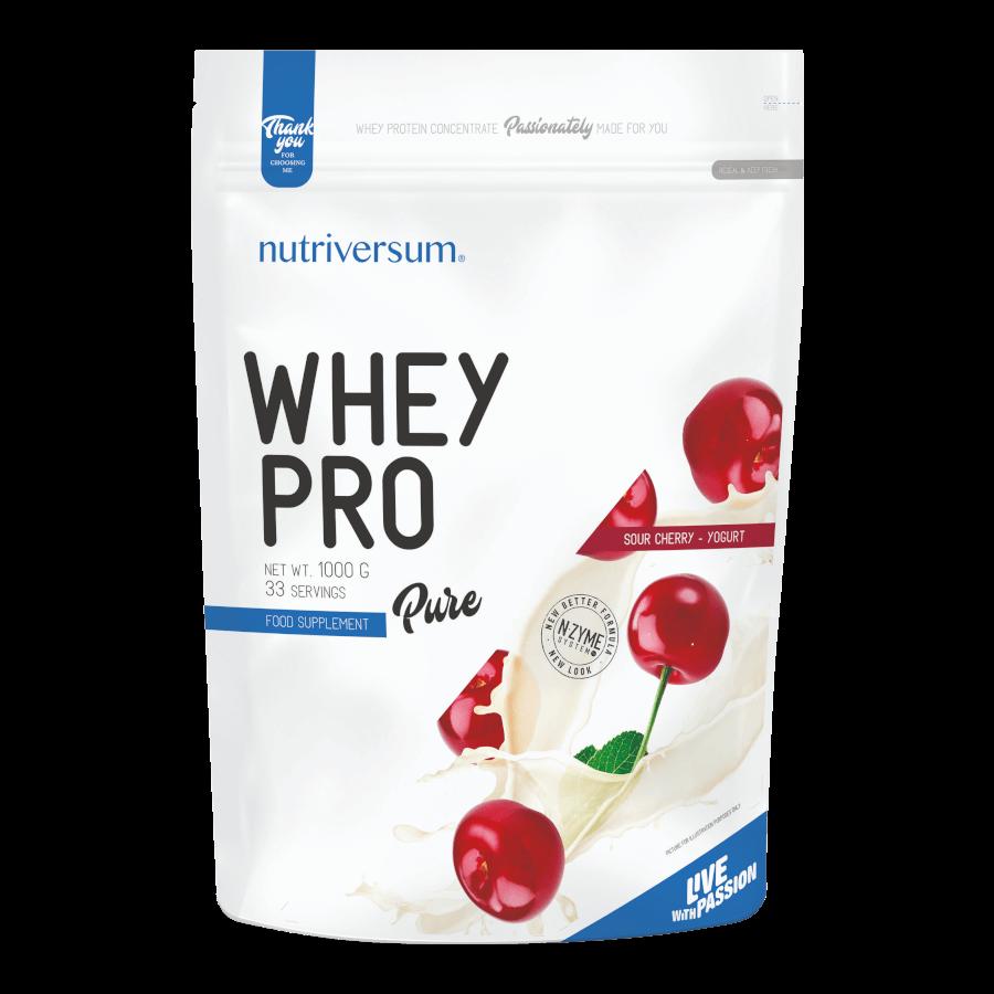 Whey PRO - 1 000 g - PURE - Nutriversum - meggy-joghurt