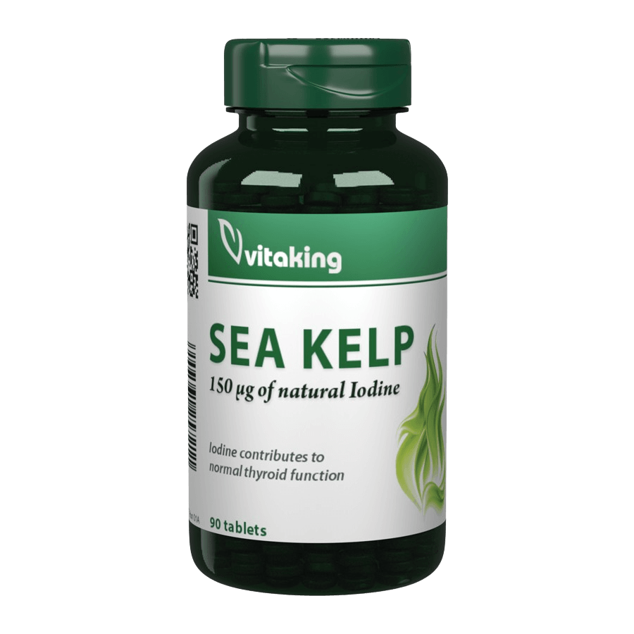 Sea Kelp Jód 100mg (150mcg) - 90 tabletta - Vitaking