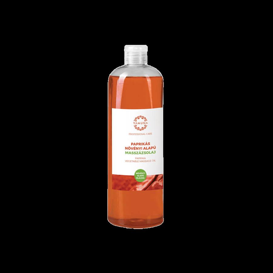 Paprikás növényi alapú masszázsolaj - 1000ml
