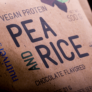 Kép 2/4 - Pea & Rice Vegan Protein - 30g - VEGAN - Nutriversum - csokoládé-marcipán - 100% növényi fehérje